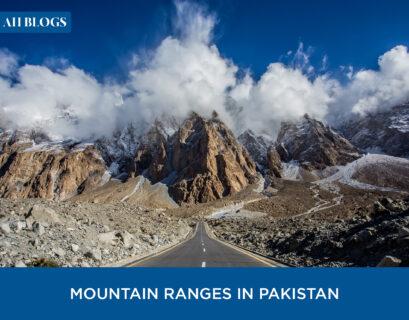 mountain ranges of Pakistan