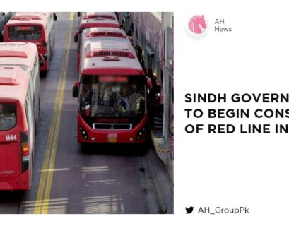 Sindh government to begin construction of Red Line in July