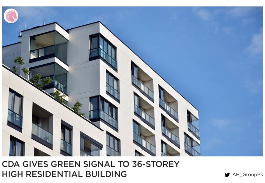CDA gives green signal to 36-storey highest residential building