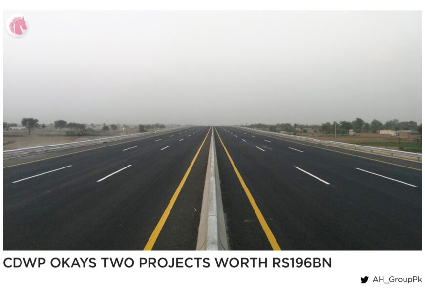 CDWP Okays two projects worth Rs196bn