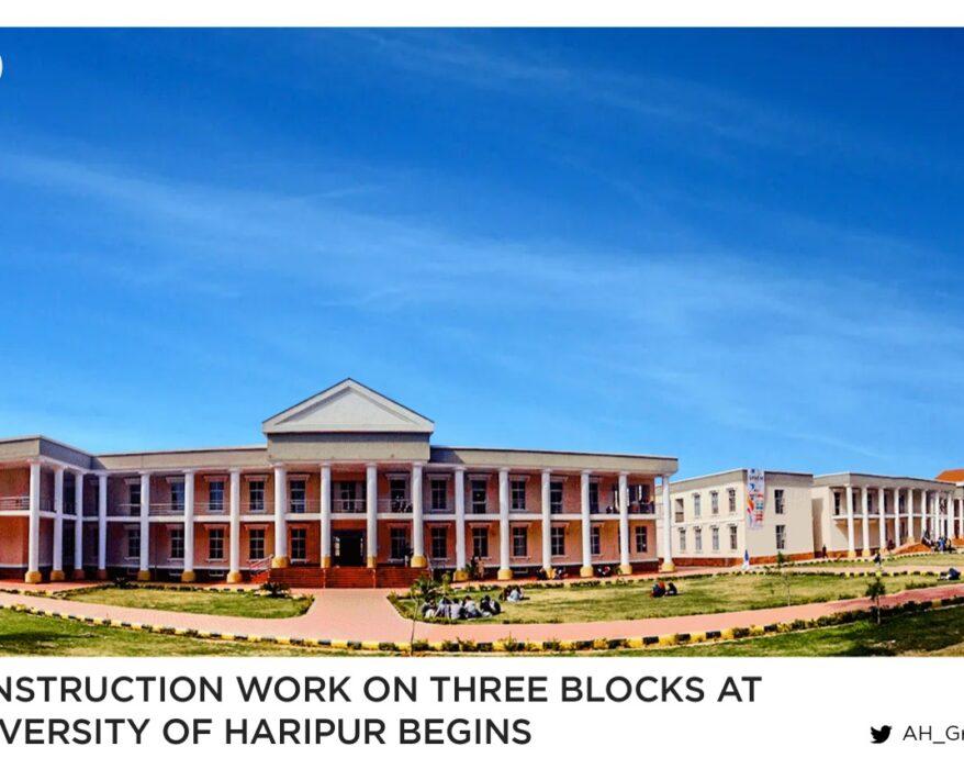 Construction work on three blocks at UoH begins