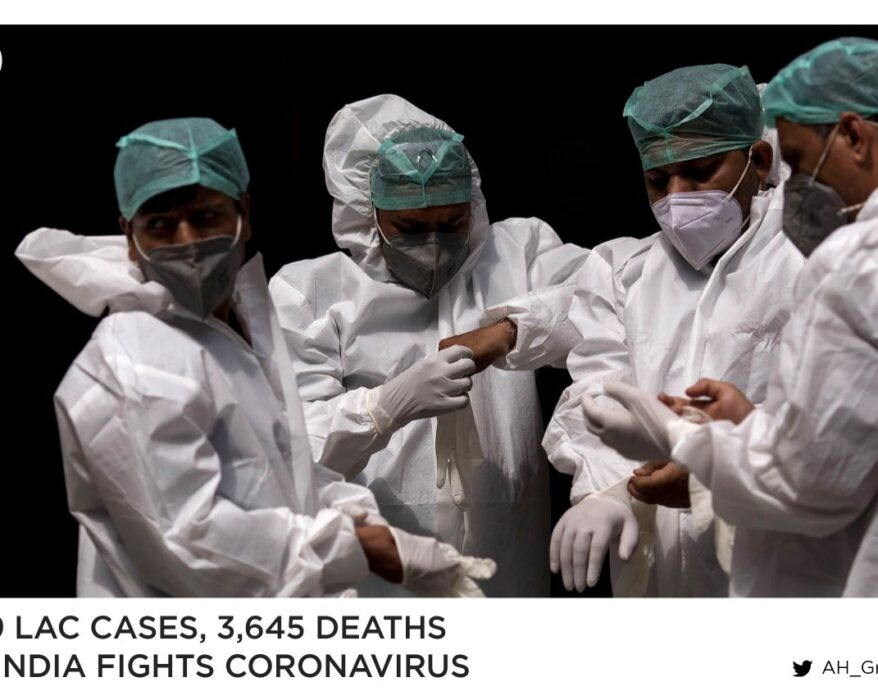 3.79 Lac COVID19 Cases, 3,645 deaths as India fights the virus