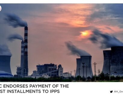 ECC endorses payment of the first installments to IPPs