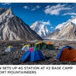 Pakistan sets up 4G station at K2 base camp to support mountaineers