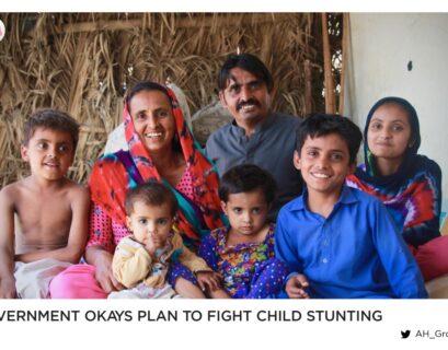 Govt okays plan to fight child stunting