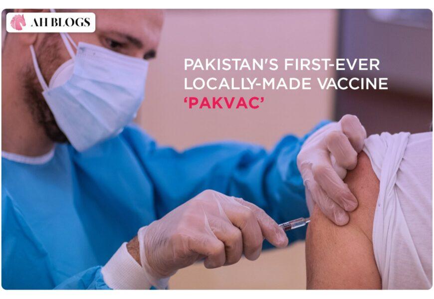 Pakistan's first-ever locally-made vaccine 'PakVac'