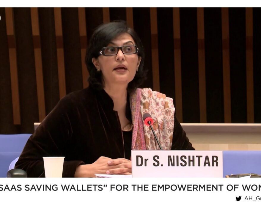 """""""Ehsaas Savings Wallets"""" for the empowerment of women"""