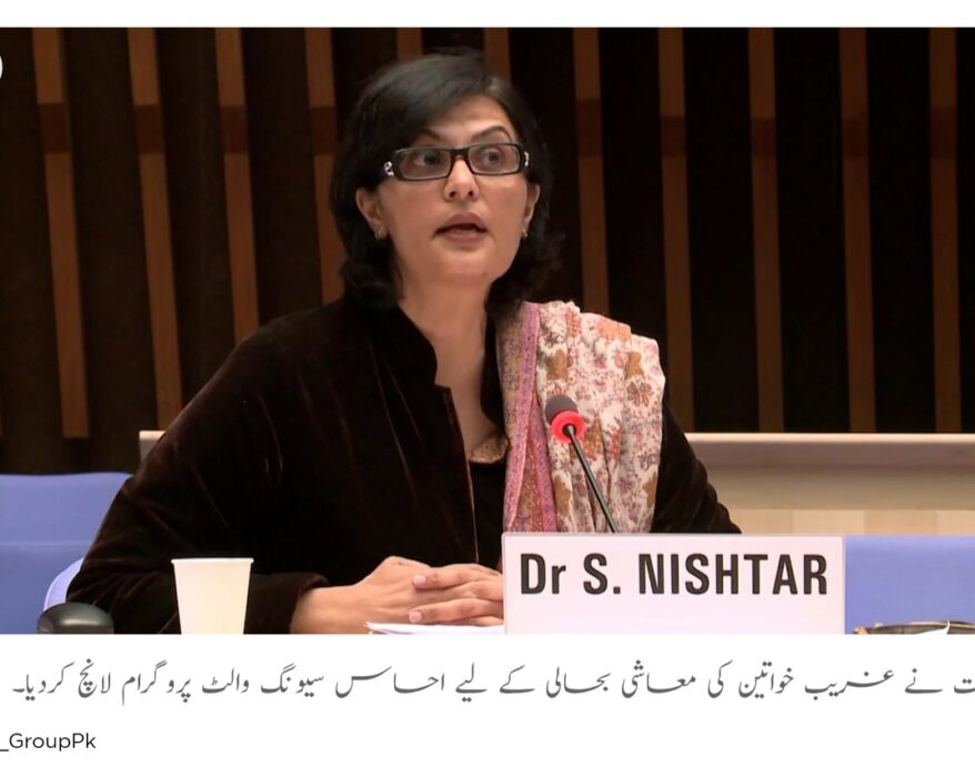 Govt launches Ehsaas Saving wallet Programme for women empowerment
