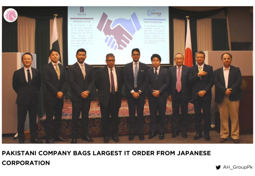 Pakistani company bags largest IT order from Japanese corporation
