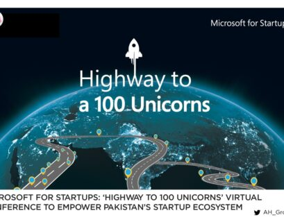 Microsoft for Startups: 'Highway to 100 Unicorns' Virtual Conference to Empower Pakistan's Startup Ecosystem