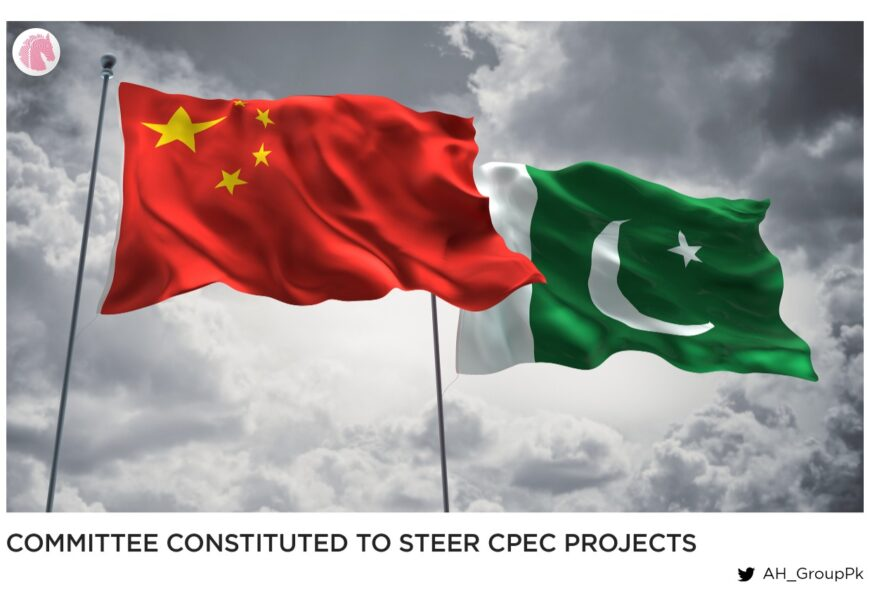 Committee constituted to steer CPEC projects
