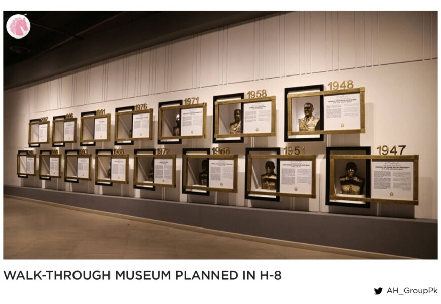 Walk-through museum planned in H-8