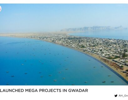 PM launched mega projects in Gwadar