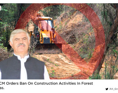 KP CM orders ban on construction activities in forest areas