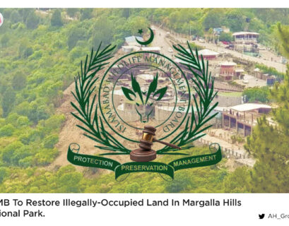 IWMB to restore illegally-occupied land in Margalla Hills National Park