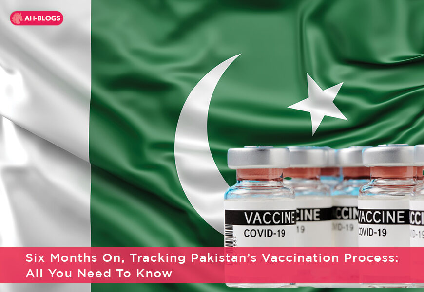Six months on, tracking Pakistan's vaccination process: All you need to know