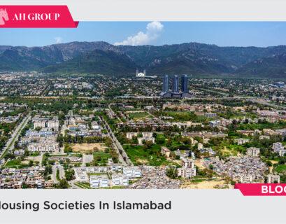 Housing societies in Islamabad