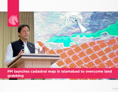 PM launches cadastral map in Islamabad to overcome land grabbing