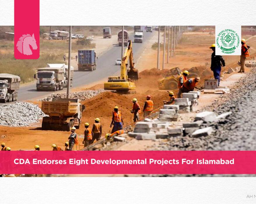 CDA endorses eight developmental projects for Islamabad